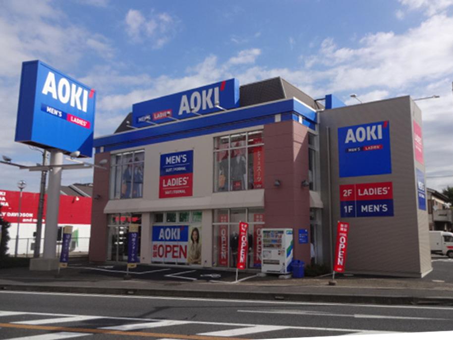 AOKI 与野店